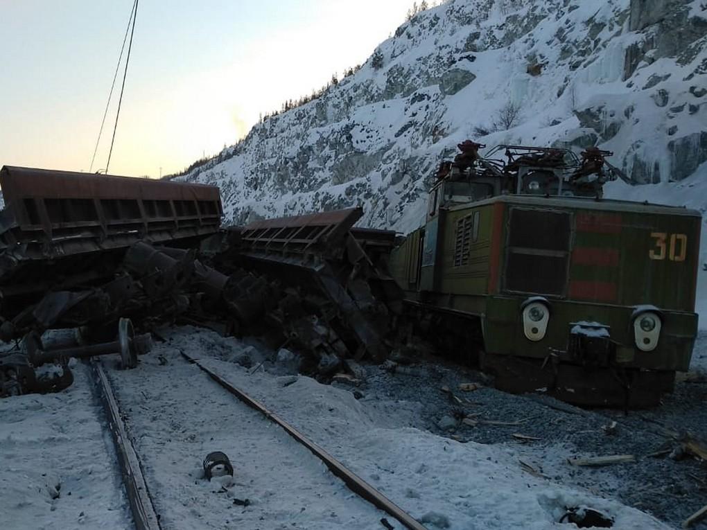 1 марта в Асбесте столкнулись два электровоза с вагонами