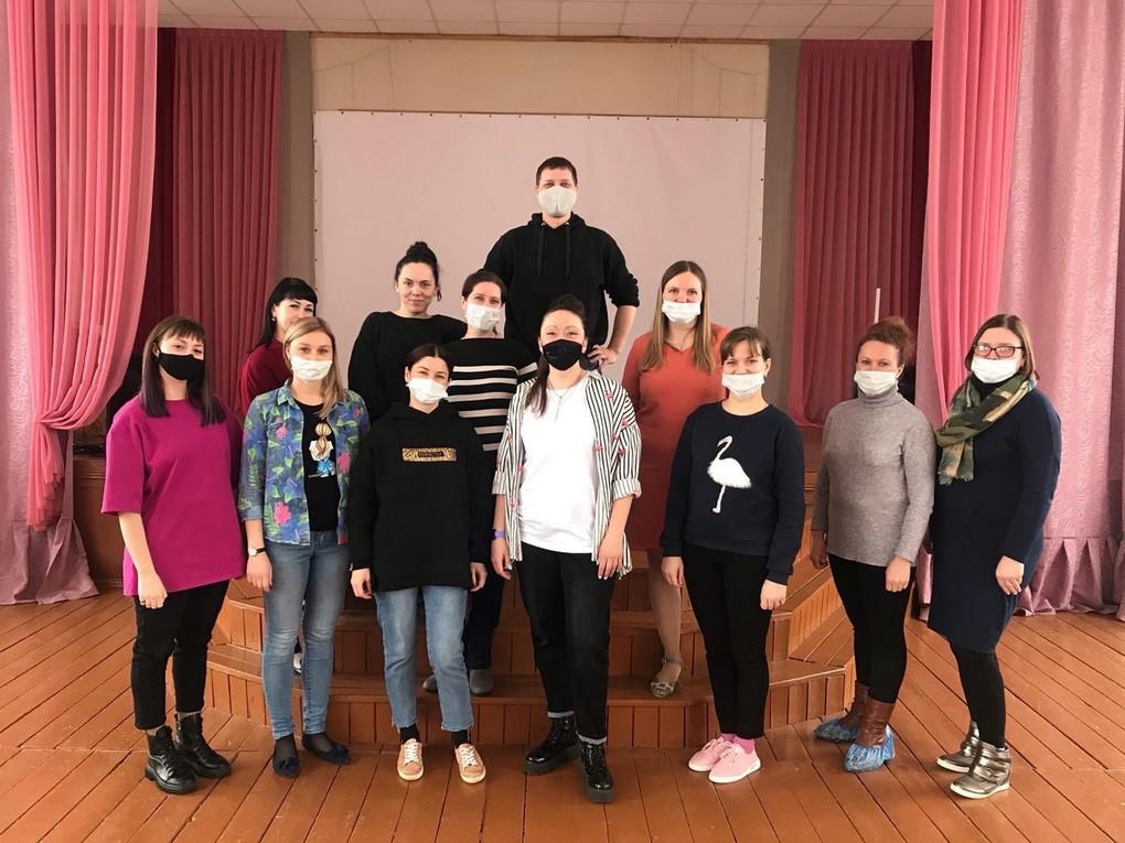 2 апреля на базе кушвинской школы №3 прошёл тренинг по сценическому искусству для молодых педагогов. О том, как преодолеть связанные