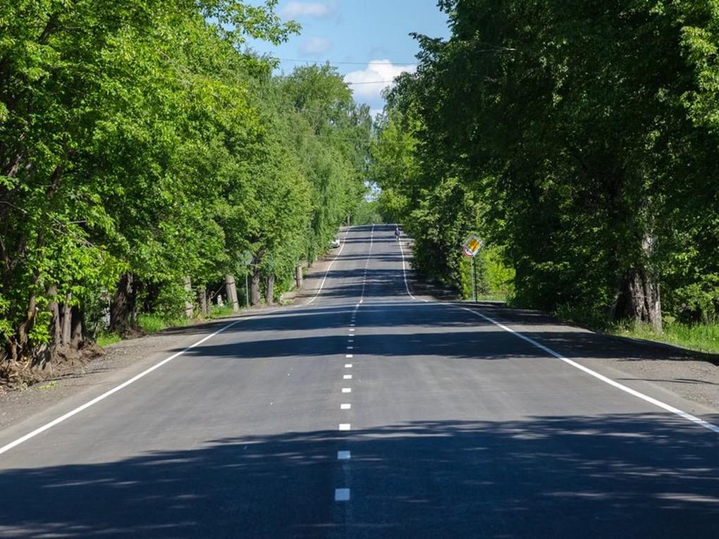 В субботу 5 июня, после обеда, автотранспорт, следующий в сторону ГБД, поселков Восток или Баранчинского «обновил» участок автодороги