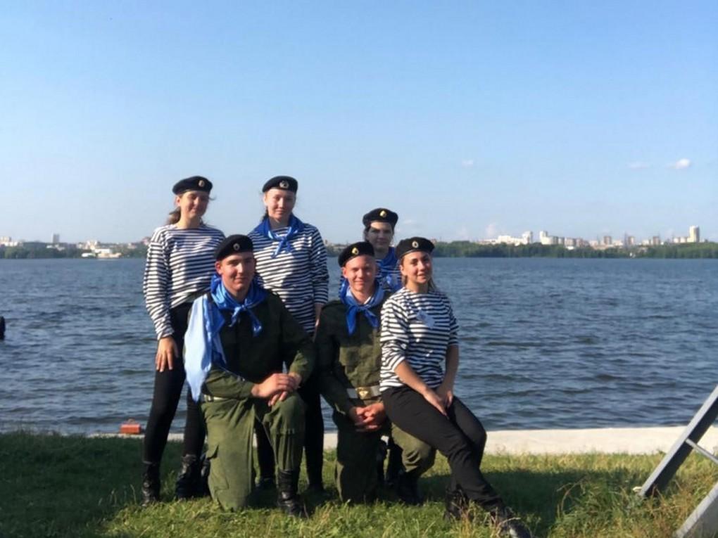С 19 по 24 июля отряд «Каравелла» проводит на водно-спортивной базе ЕМШ ДОСААФ России областные оборонно-спортивные