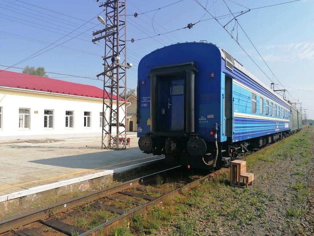 Администрация железнодорожной станции Верхняя информирует, что 21 июля с 11 часов 33 минут до 12 часов 18 минут