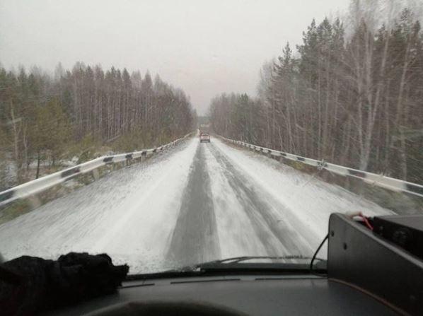 Снег Красноуральск
